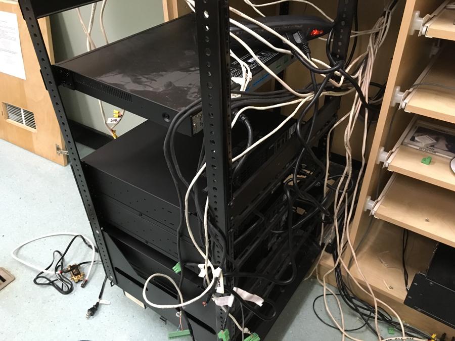 CR rack old