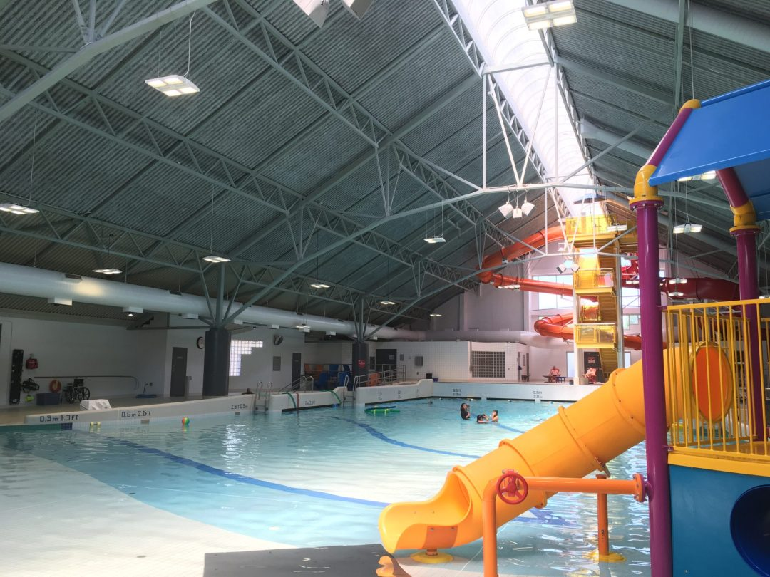 Newton Wave Pool Rec Centre  2017 Installation