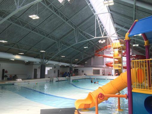 Newton Wave Pool Rec Centre  2017 Installation