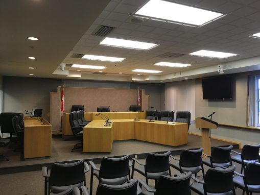 Port Coquitlam Council Chamber Upgrade August 2017