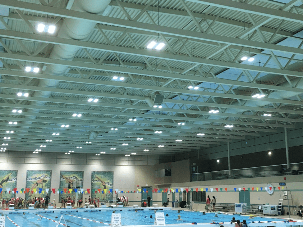 Surrey Leisure Centre Sound System Upgrade October 2017