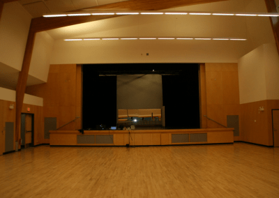 Ucluelet Community Centre Sound and Lighting installation
