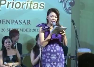 Sewa Sound di Bali - MC BTN Prioritas