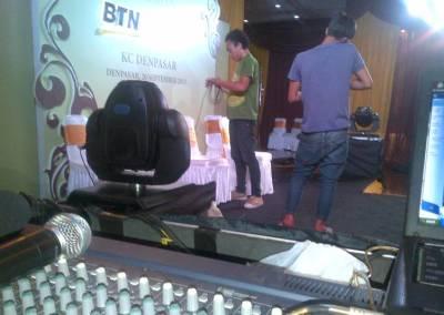 Sound System Bali BTN Prioritas