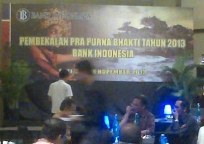 Pembekalan Pra Purna Bhakti BI 2013 - Sheraton Bali Kuta