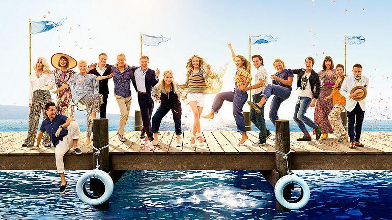 Mamma Mia! Here We Go Again film poster