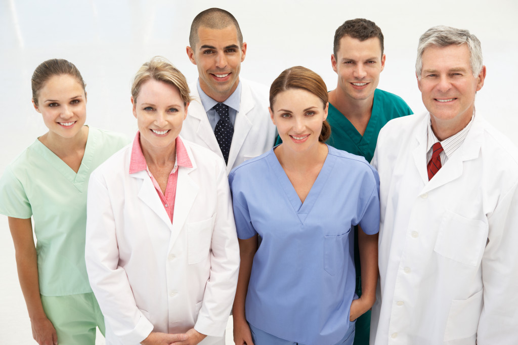 A team of nurses and staff at an assisted living facility | Soundview Medical Supply