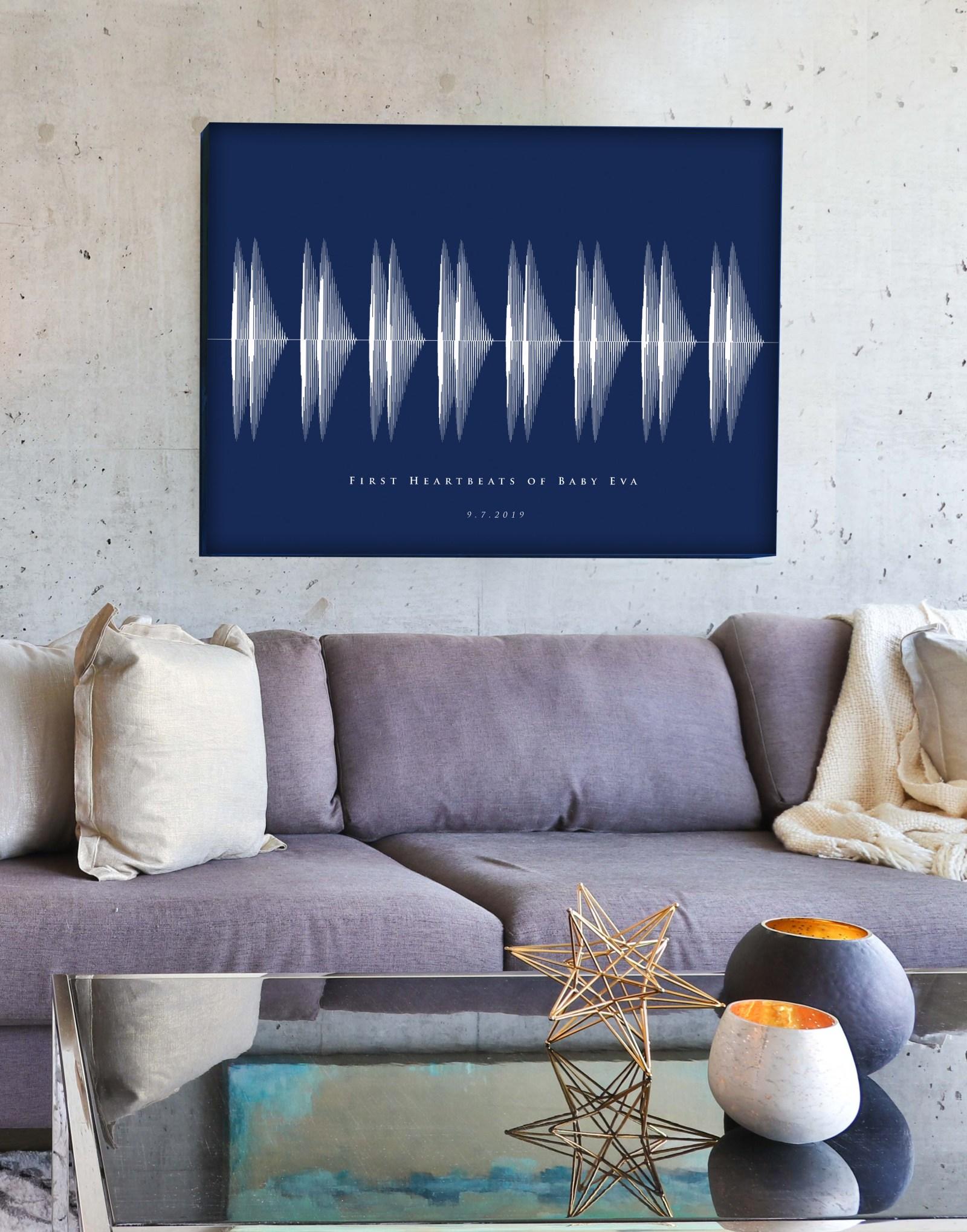 Christmas Soundwave art