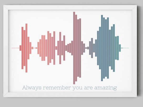 you are amazing sound wave