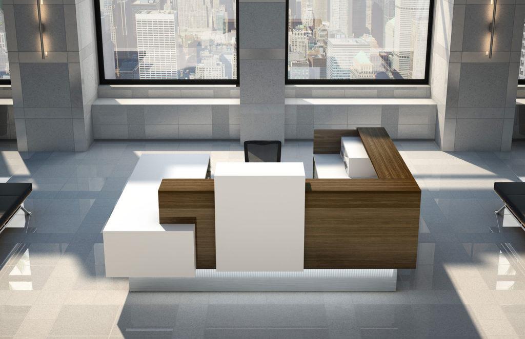 Logiflex Inbox Reception Desks Modern Office Furniture