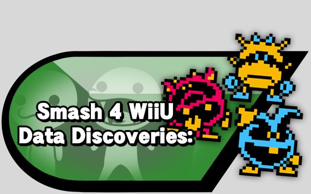 Smash 4 Wii U Data Discoveries: | Source Gaming