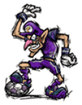 Brawl_Sticker_Waluigi_(Super_Mario_Strikers)