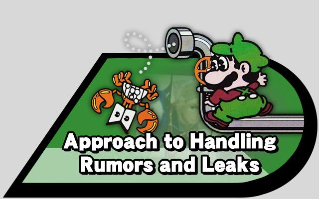 handling leak