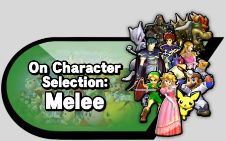 On character selection melee alt