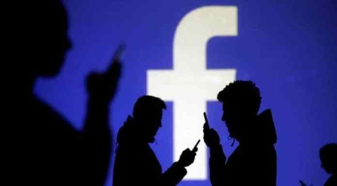 Facebook app visits
