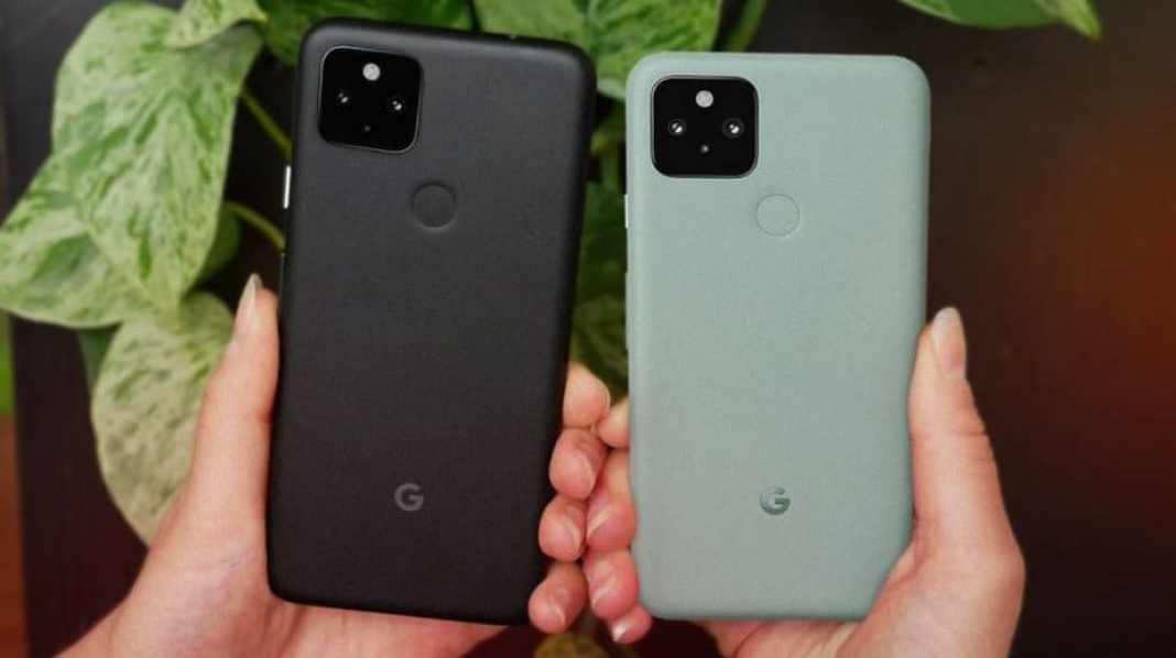 Pixel 5 and Pixel 4A 5G
