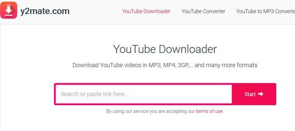 y2mate YouTube to Mp3