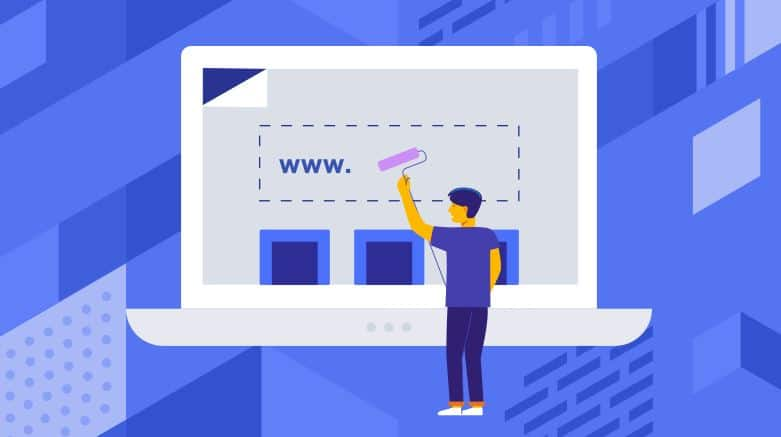 domain name change