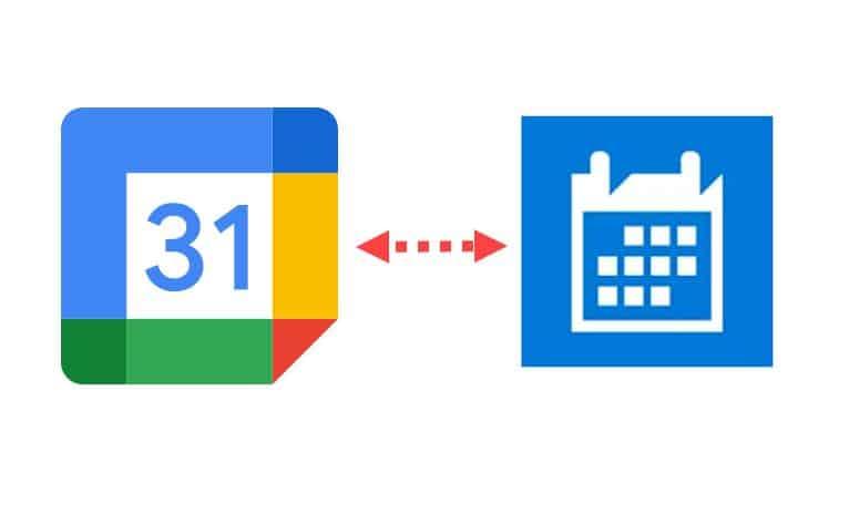 Windows 10 Google Calendar