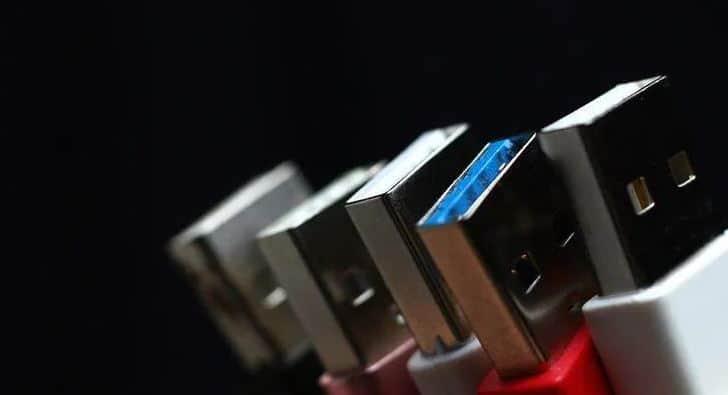 USB 3.0 3.1 3.2 ports