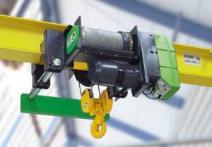 Wire Rope Hoists  Source Industrial Service and Cranes