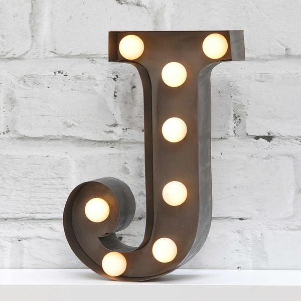 fairground-letter-lights-J