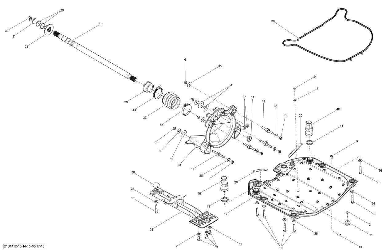 Sea Doo Gti 130 Anode Zinc