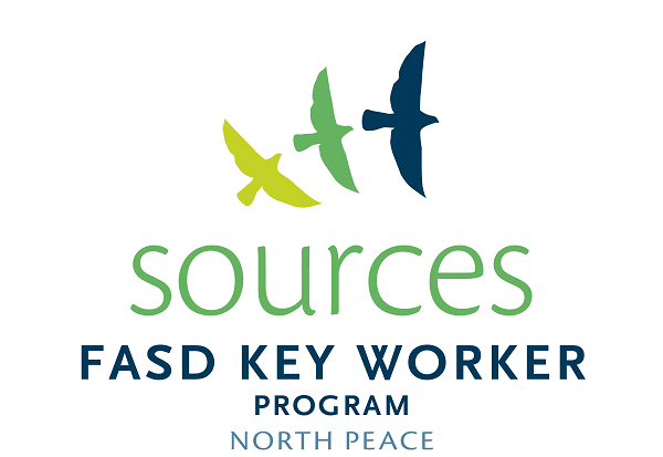 FASD Key Worker Program North Peach Logo