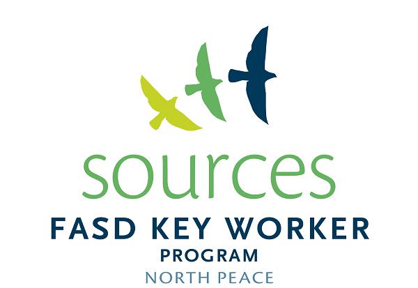 FASD Key Worker Program North Peach Logo
