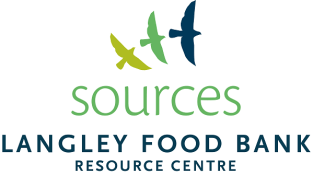 Sources Langley Food Bank Logo