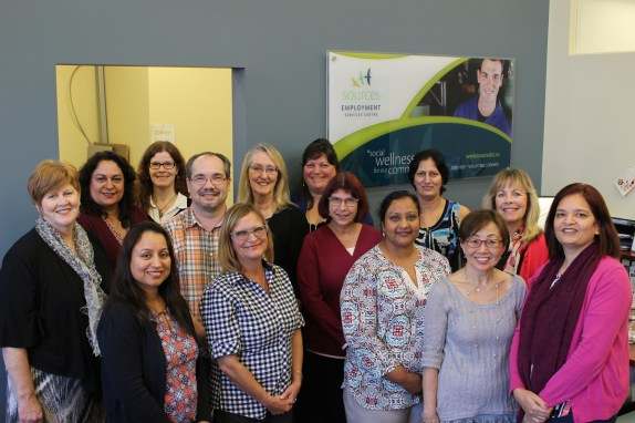South Surrey/White Rock Employment Services Centre staff (October 2017)