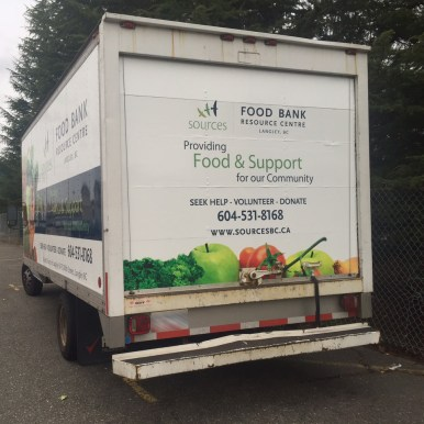 Sources Langley Food Bank back sq
