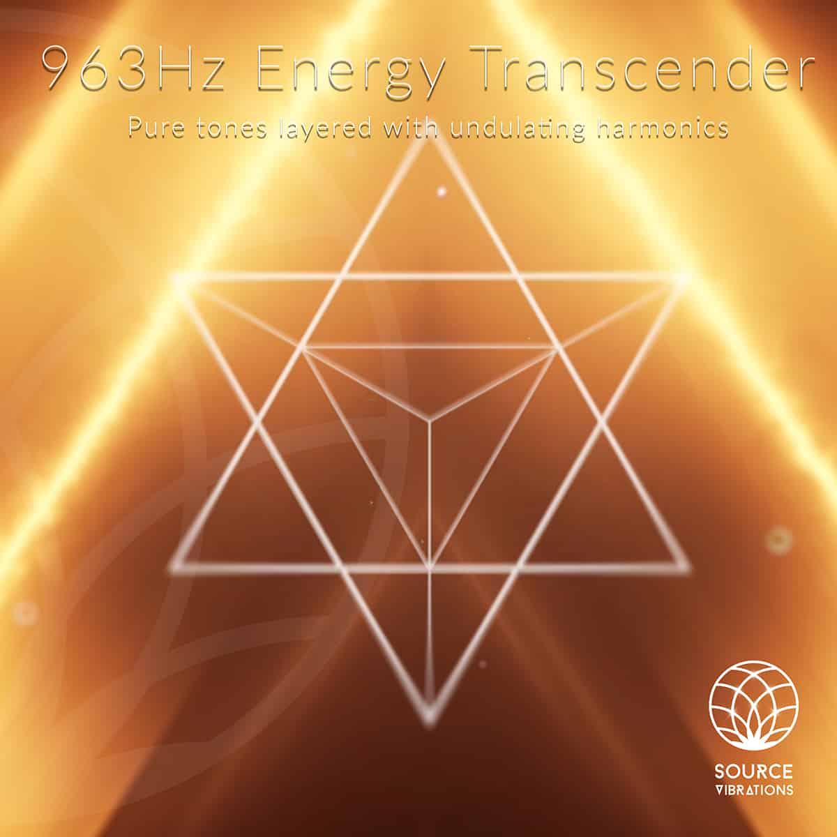 963Hz Energy Transcender   Pure Tones