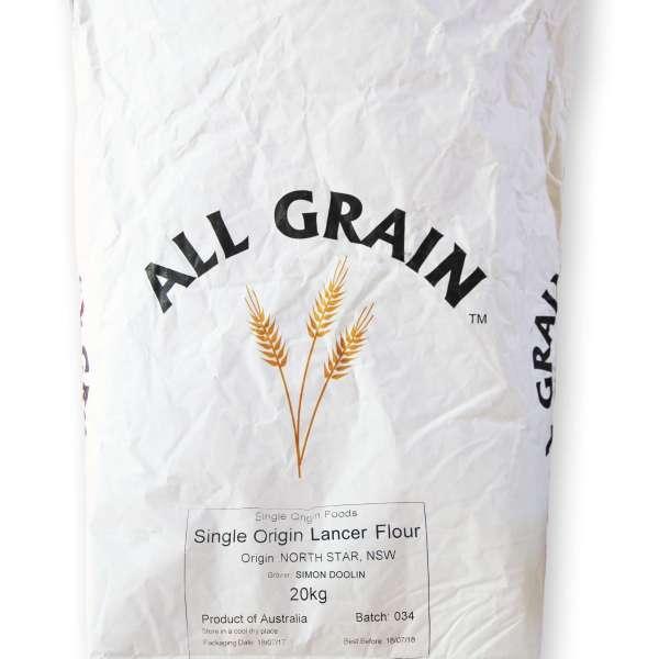 Lancer Single Origin Flour 20kg