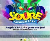 Programação Carnaval 2017