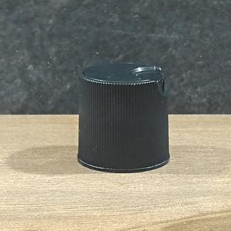bouchon noir PP disc top 24-410