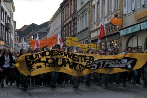 2009 bildungsstreik