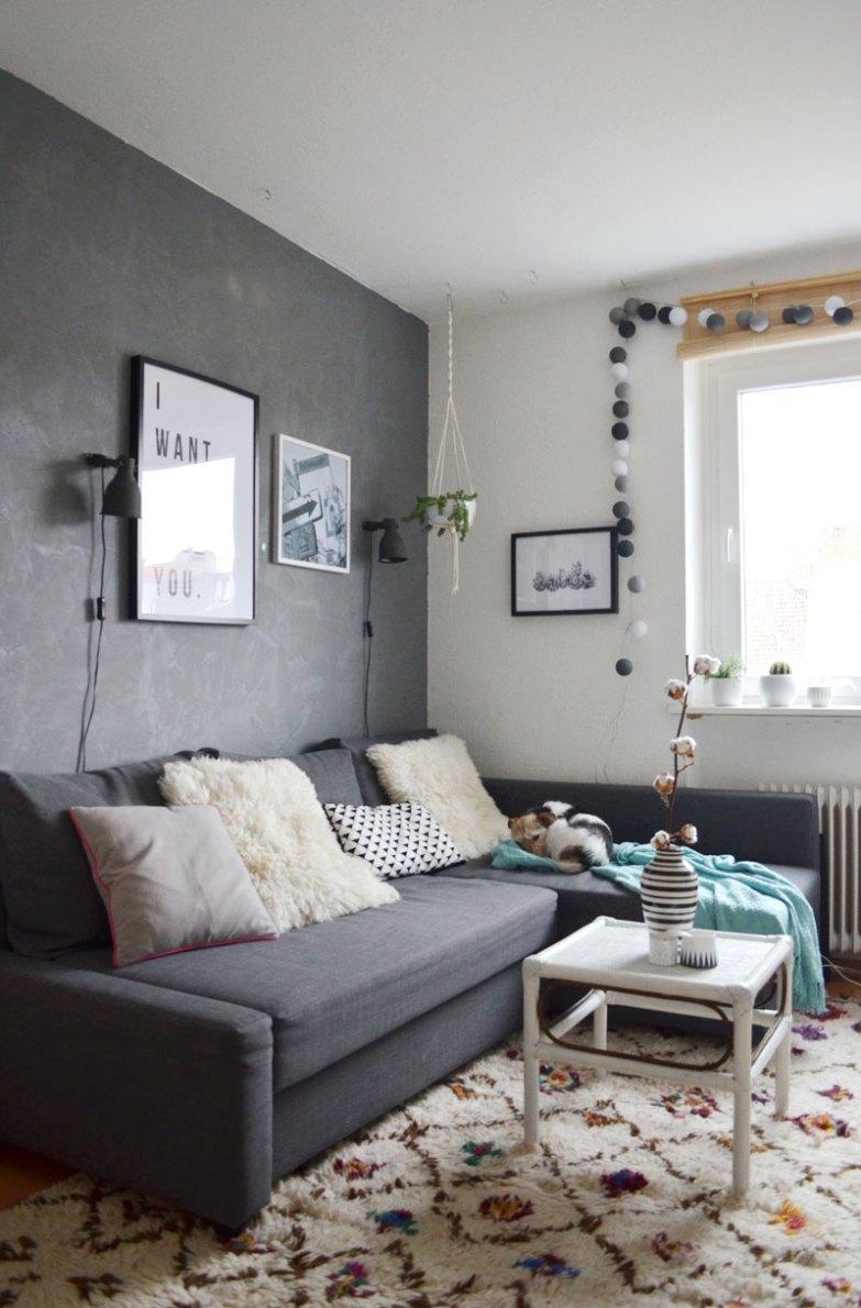 Mein Wohnzimmer im Herbst - schlicht und gemütlich mit 3 ...
