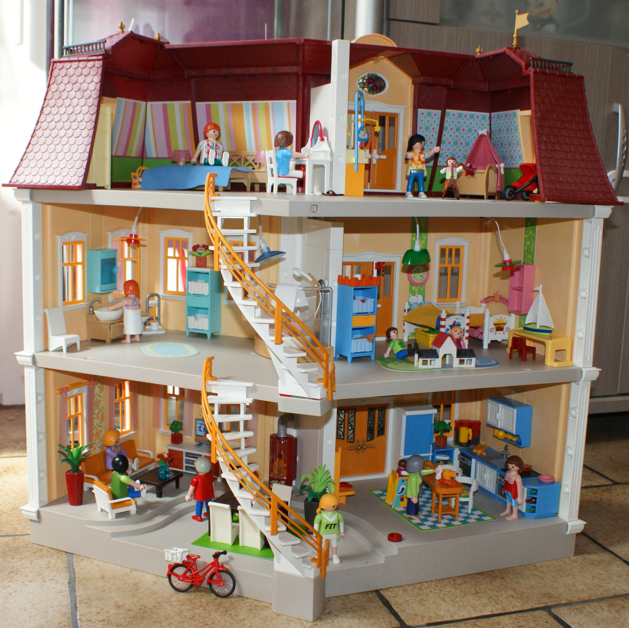 La playmoth rapie sous une etoile for Agrandissement maison moderne playmobil