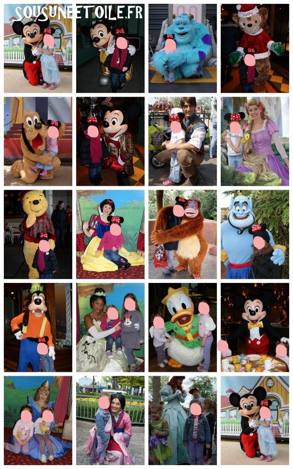 Rencontres personnages Disneyland paris