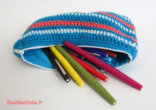 diy pouch purse clutch crochet pattern
