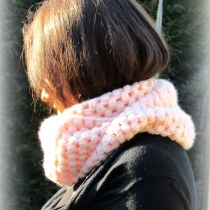diy tuto snood crochet