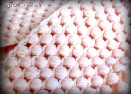 tuto snood crochet phildar