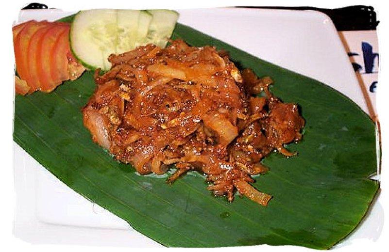 sambal spicy nasi lemak