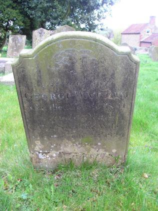Headstone reference G18 Plan 1 - Wattam, George & Wattam, Sarah
