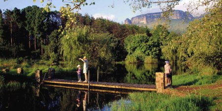 Trout fishing in the Eastern Cape