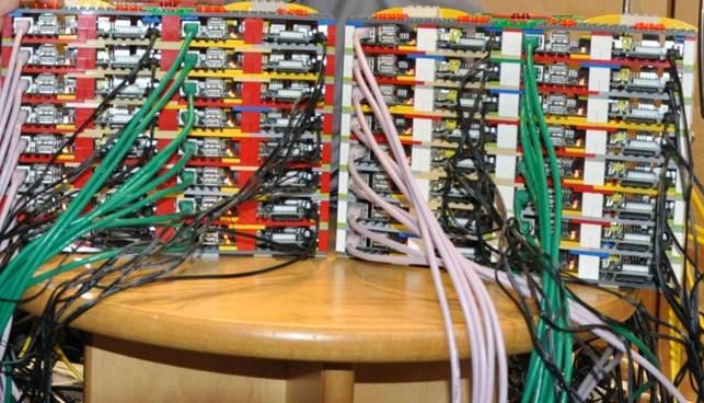Lego R.Pi Cluster Computer, 64 nodes