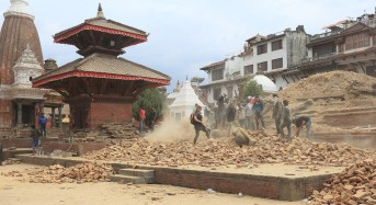 Some 500,000 homes and temples across Nepal damaged by earthquake, UN official says