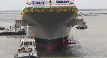 India leaves China behind in the construction of indigenous aircraft carrier