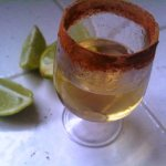 Warming Up With a Cinnamon Tequila Shot